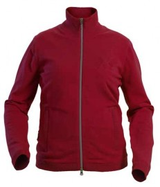 Backtee Windproof Sweater Red, Small