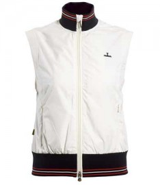 Backtee Windproof Gilet White, M, XL