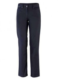 Backtee Ladies Bootleg Golf Trousers navy sizes 8-18