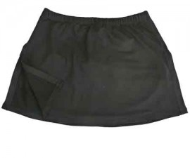 Aida Tennis Skirt, Black, M,L