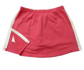 Aida Tennis Skort Hot Pink/White Medium