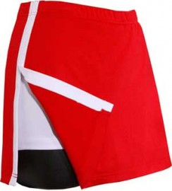 Aida Tennis skirt Red/white, size M