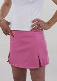Susanna Tennis Skirt - Bubblegum with matching undershorts Large